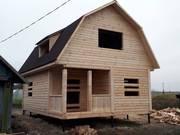 Дом-Баня из бруса готовые срубы с установкой-10 дней недорого Жлобин